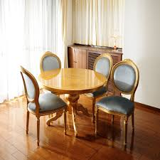 furniture made in italy. 110 Cm Italy Furniture Dining Set 5-point Sets Chairs Table Gold Chair 4 Legs Imported Made In I
