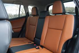 rear seat space is generous if slightly tighter than the honda and i love the functionality of the lever used to recline the rear seats but having to use