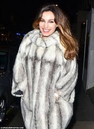 beautiful brunette kelly saw in 2016 in some style as she looked ultra glamorous in