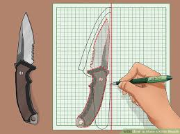 Knife Sheath Patterns Delectable How To Make A Knife Sheath With Pictures WikiHow