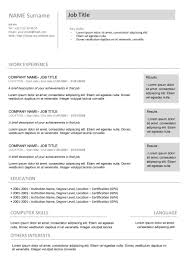 basic curriculum vitae template 48 great curriculum vitae templates examples template lab