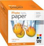 Фотобумага ColorWay глянцевая 200г/м, 10x15 ПГ200-100