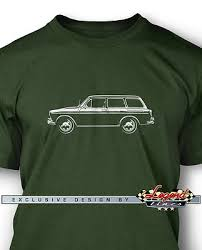 vw type io volkswagen vw type 3 variant squareback men t shirt forest green large