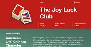 the joy luck club part chapter summary course hero