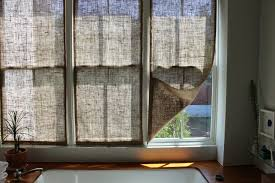 Diy Window Shades IdeasBurlap Window Blinds