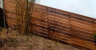 horizontal wood fence panels. Finest Fence-Custom-1x6-Space-Horizontal-Redwood.--Wood Horizontal Wood Fence Panels L