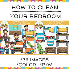 clean bedroom clipart. Wonderful Clipart How To Clean Your Bedroom Sequencing Clip Art Throughout Clipart M