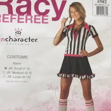 Incharacter Racy Refree Costume Halloween