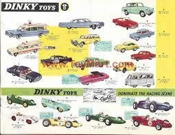 dinky toys catalogue  dinky toys catalogue 1964