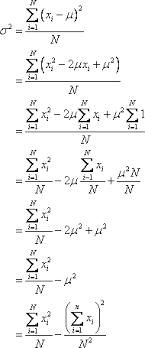 Variance Formula Variance Formulas Examples Solutions Videos