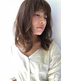 春 大人かわいい 大人女子 レイヤーカットgarden Harajuku 鈴木
