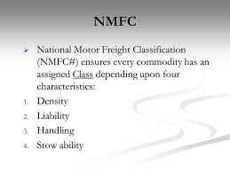 Nmfc Class Chart 76 Prototypic Freight Classes By Density Chart
