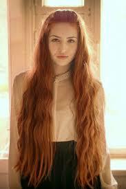 Sexy long hair fetish