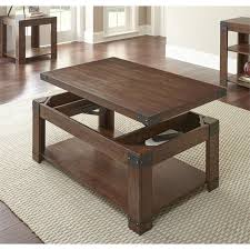 Steve Silver Arusha Lift Top Coffee Table With Casters In Cherry