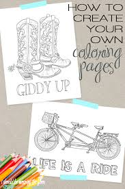 Small Picture How To Make Coloring Pages FunyColoring