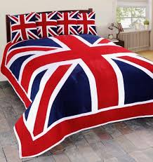 uk bedding sets designer duvet covers sheets pillowcases sofa set cover union jack british flag fur throw blanket superb supreme quality size double