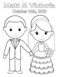 Wedding Coloring Books For Children Wedding Coloring Book Template