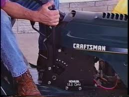 craftsman lawn garden tractor use and