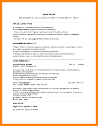 Housekeeping Resume Samples Manager Resume Samples Outbound Sales