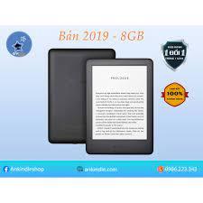 Tặng Cover] Máy đọc sách Kindle Basic 2019 - All-new-kindle 2019 - có đèn  nền, bản 8GB - chính hãng, mới 100%