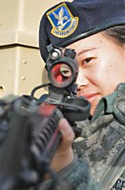 photos airman 1st class pang yang 509th security forces squadron security forces specialist looks down