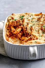 easy vegan baked ziti the curious