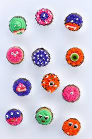 Diy Halloween Monster Cupcakes
