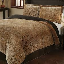 cheetah mini comforter set caramel touch to zoom