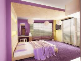 Amazing Romantic Purple Bedroom Color Scheme
