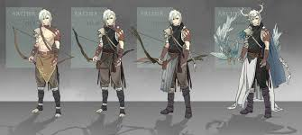 Archer Design Sho Harace Character Design Archer