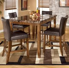 Dining Room. Sophisticated 5 Piece Counter Height Dining Sets ...