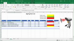 Medication Expiration Date Chart How To Manage Expired Items In Excel