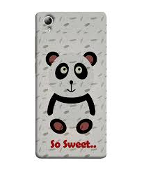 Vivo Y51l Back Cover Designer Sale Amazon Vivo Y51 Vivo Y51l Back Cover So Sweet Panda Amazon In