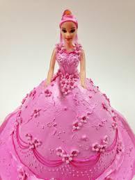 7 Barbie Girl Cakes Photo Barbie Birthday Cake Barbie Doll Cake