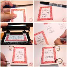 red and white file type handmade cards for boyfriend step by step 4