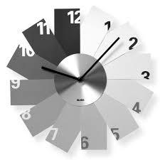 monochrome wall clock  moma design store