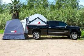 Deluxe Truck Tent Side Profile Lifestyle 1 Pickup Bed Camper – Footalk