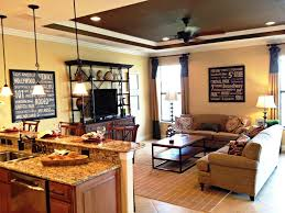 Living Room Kitchen Living Room Nice Kitchen Family Room Ideas Nice Design Combos A