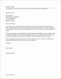 Medical Receptionist Sample Resume Cover Letter Save Sample Cover