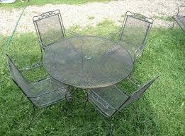 Wrought Iron & Steel Outdoor Furniture