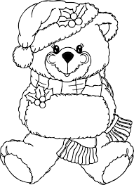 Small Picture bear coloring pages teddy bear coloring page printable Gianfredanet