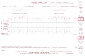 Drivers Daily Log Form With Inspection Report Driver Sheet Template ...