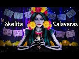 skelita calaveras cosplay video makeup tutorial monster high
