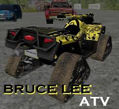 canam bruce lee se fastest atv crawler v0 9 0 2 fs17 farming