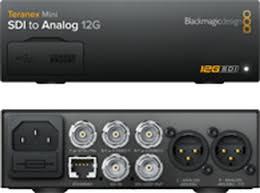 Blackmagic Design Teranex Av Teranex Mini Sdi To Analog 12g Sdi To Analog 12g Teranex