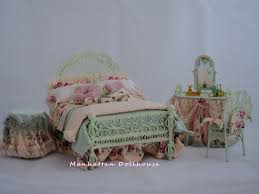 Miniature Dollhouse Bedroom Furniture Country Bedroom Set By Serena Johnson Country Style Dollhouse