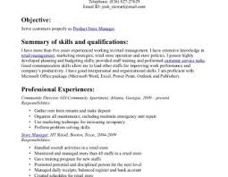 Employment Cover Letters Examples Retail Letter Endings Manager