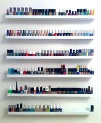 nail polish display wall holder ring ulta rack nail polish display holder ring where to wall rack canada diy
