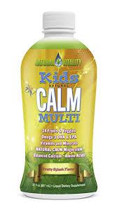 natural vitality kids calm multi organic fruity splash flavor 30oz calm casa kids