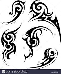 Tatuaggio Tribale Immagini Tatuaggio Tribale Fotos Stock Alamy